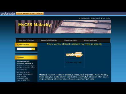 www.mscss.sk