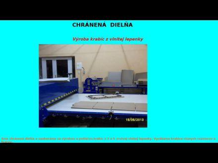 www.vyrobakrabic-chranenadielna.sk