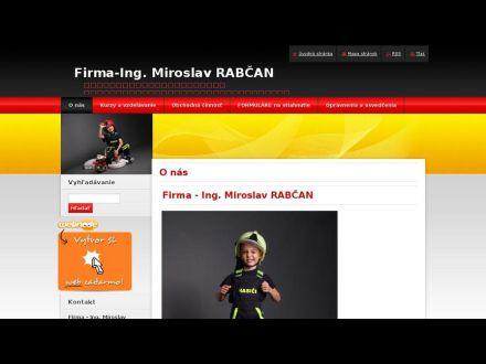 www.rabcanmiroslav.com