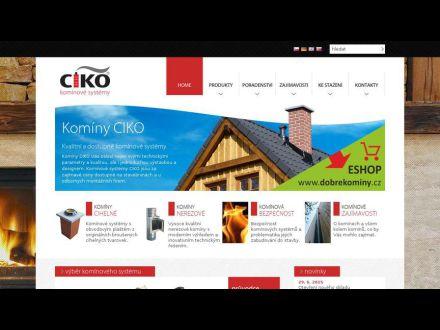 www.ciko-kominy.cz