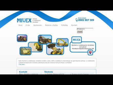 www.mivex.sk