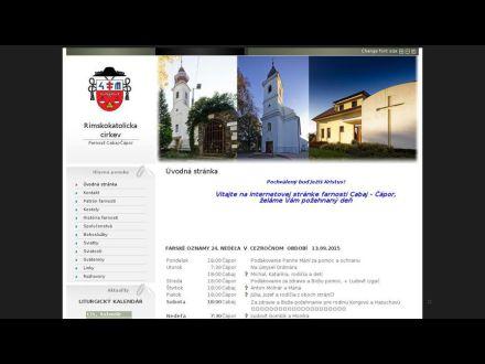 www.cabajcapor.fara.sk