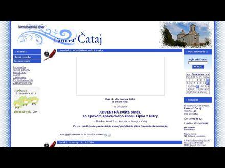 www.cataj.fara.sk
