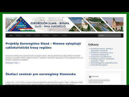 www.euroregion-slana-rimava.sk