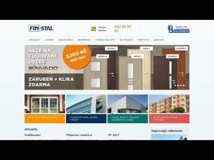 www.finstal.cz