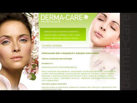 www.derma-care.sk