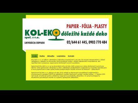 www.kol-eko.sk