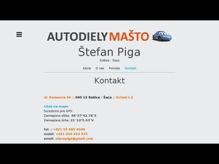 www.autodiely-masto.sk