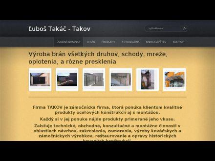 www.zamocnictvo-takov.sk