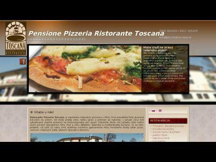 www.pizzeriatoscana.sk