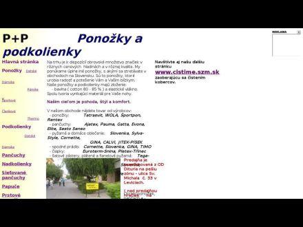 www.ponozky.szm.sk