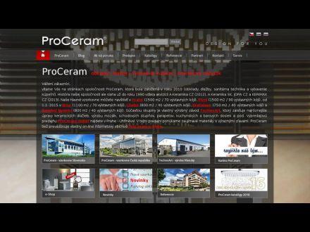 www.proceram.sk