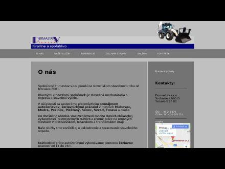 www.primastav.sk