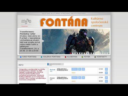 www.fontana-piestany.sk