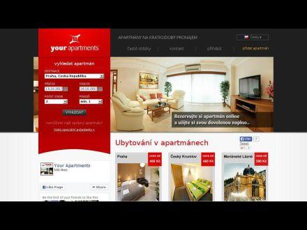 www.your-apartments.cz