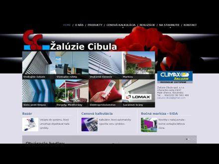 www.zaluzie-cibula.sk