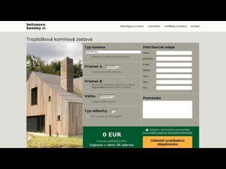 www.betonovekominy.sk