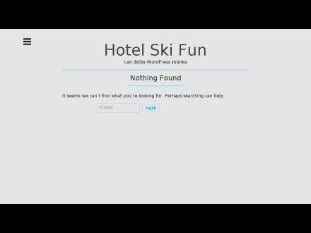 www.hotelskifun.sk