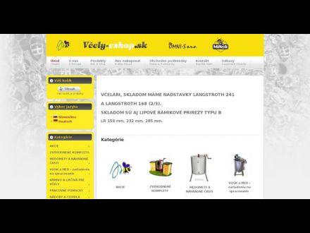 www.vcely-eshop.sk