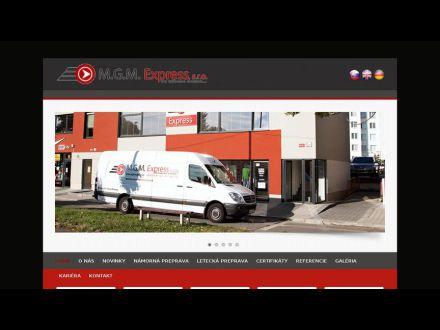 www.mgmexpress.sk