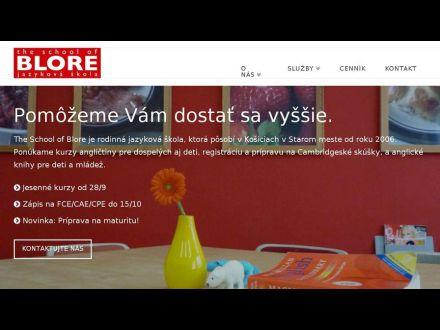 www.blore.sk