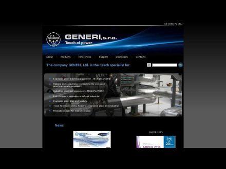 www.generi.cz