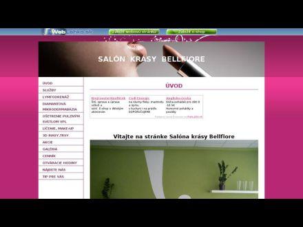 www.bellfiore.wbl.sk