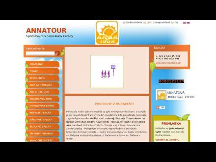 www.annatour.sk