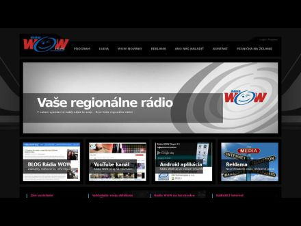 www.radiowow.sk