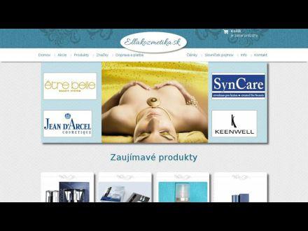 www.ellakozmetika.sk