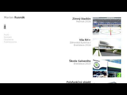www.architektrusnak.sk