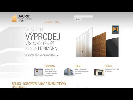 www.bauro.cz