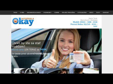 www.autoskola-okay.sk