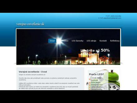 www.verejne-osvetlenie.sk