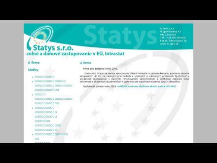 www.statys.sk