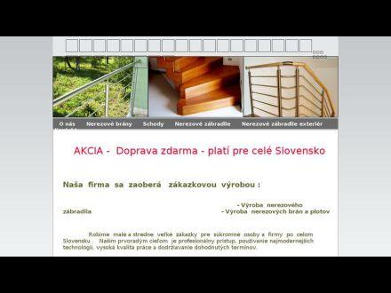 www.nerezove-zabradlie-a-schody.sk