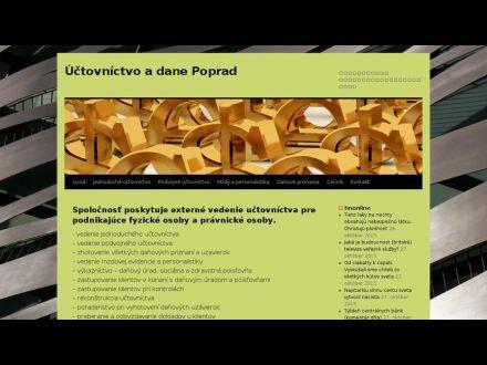 www.uctovnictvo-dane-poprad.sk