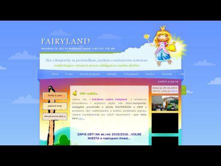 www.fairyland.sk/