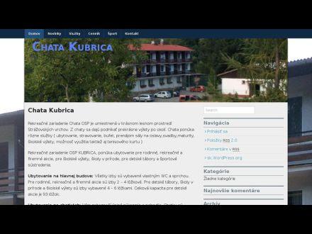 www.kubrica.sk