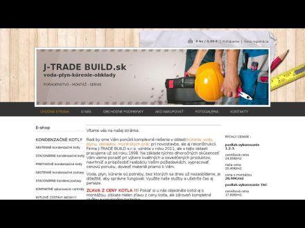 www.j-tradebuild.sk