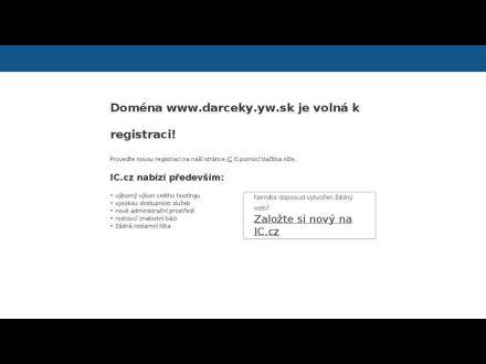 www.darceky.yw.sk
