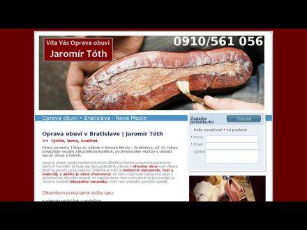 www.opravaobuvi-jaromirtoth.sk
