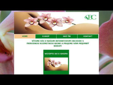 www.bionekozmetik.sk