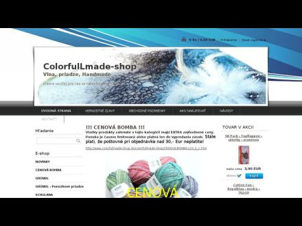 www.colorfullmade-shop.sk