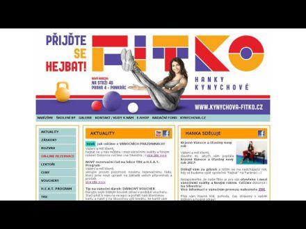www.fitness-kynychova.cz