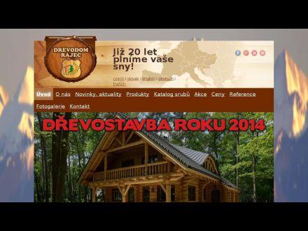 www.drevodomrajec.cz