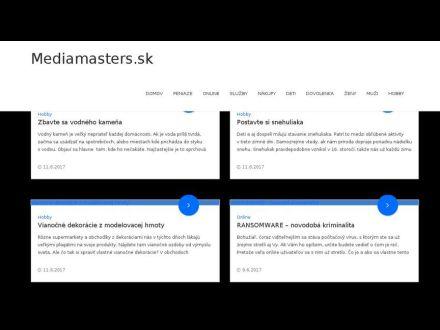 www.mediamasters.sk