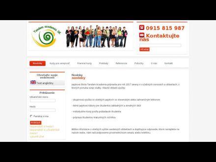 www.tandem-academia.sk