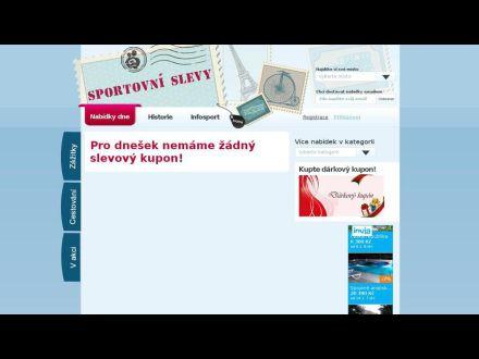 www.sportovnislevy.cz