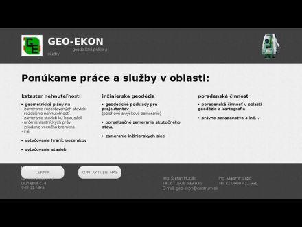 www.geo-ekon.sk